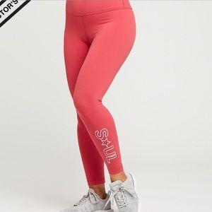 Lululemon SoulCycle pink align leggings
